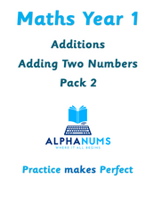 Adding 2 numbers pack 2-Year 1