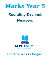 Rounding decimal numbers with two decimal places to the nearest whole number-Year 5