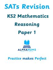 SATs Revision KS2 Maths Reasoning Paper 1