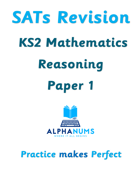 SATs Revision KS2 Maths Reasoning Paper 1