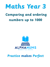 Comparing and ordering numbers upto 10-Year 3