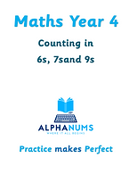 Counting in 6s, 7sand 9s-maths year 4