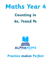 Counting in 6s, 7sand 9s-Year 4