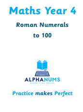 Roman numerals to 100-Year 4
