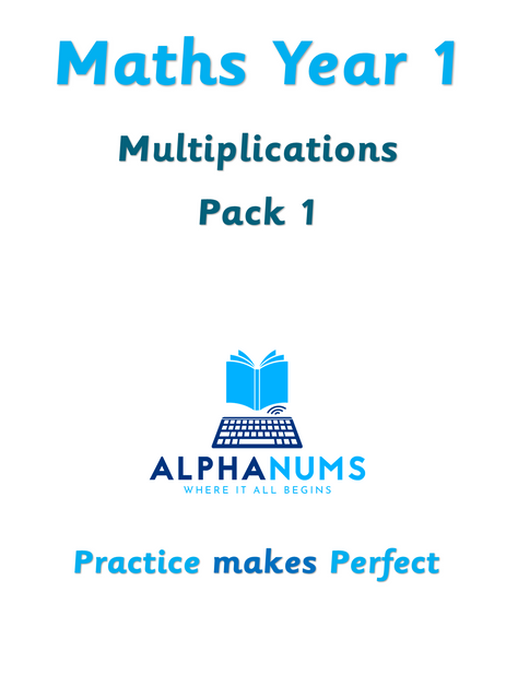 Multiplications pack 1-Year 1