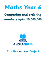 1 comparing and ordering numbers upto 10