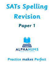 SATs Spelling Revision Paper 1