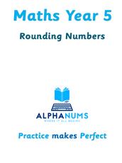 Rounding numbers-Year 5