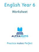 English Year6 Worksheet Negative Prefixes