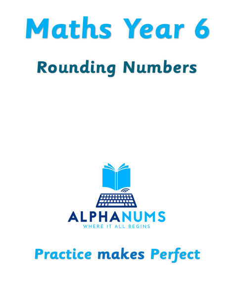 Rounding numbers-Year 6