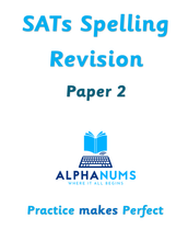 SATs Spelling Revision Paper 2