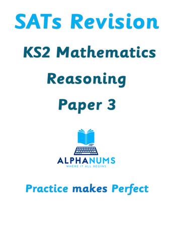 SATs Revision KS2 Maths Reasoning Paper 3