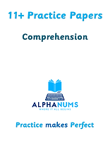 11+ Comprehension Paper 1