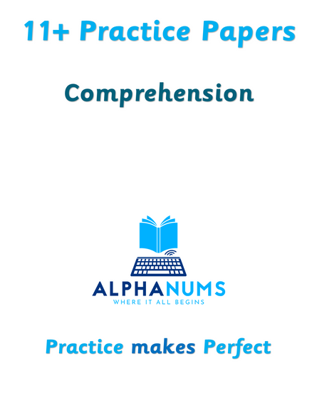 11+ Comprehension Paper 3 (CEM)