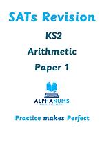 SATs Revision KS2 Arithmetic Paper 1