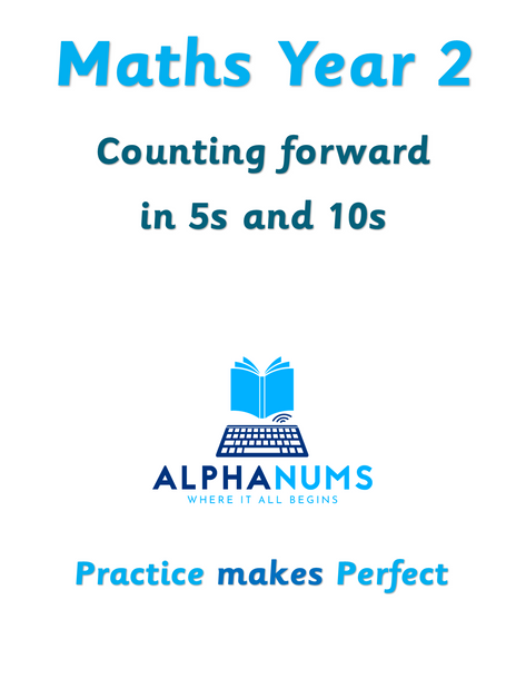 Counting foward in 5s and 10s-Year 2