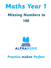 Missing numbers to 100-Year 1