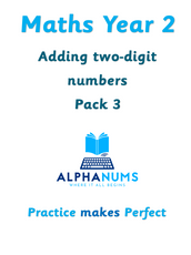 Adding two digit numbers pack 3-Year 2