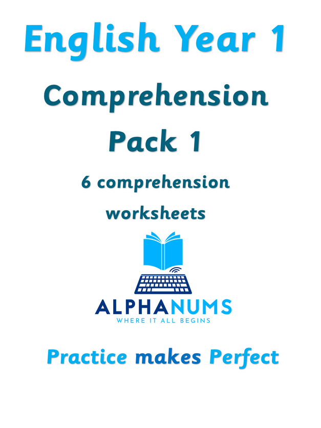 Year 1 Comprehension Pack1