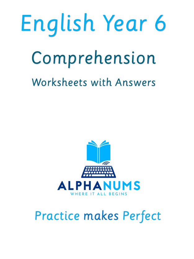 Comprehension1 Calming excercise