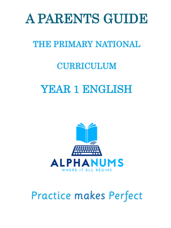 Parents Guide to the National Curriculum