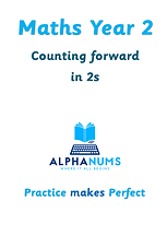 Counting foward in 2s-maths year 2
