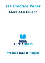 11 Plus Cloze Assessmnet Paper 1