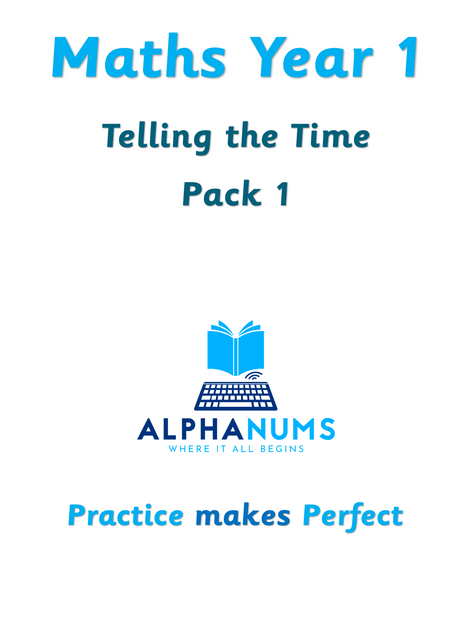 Telling the time pack 1-Year 1