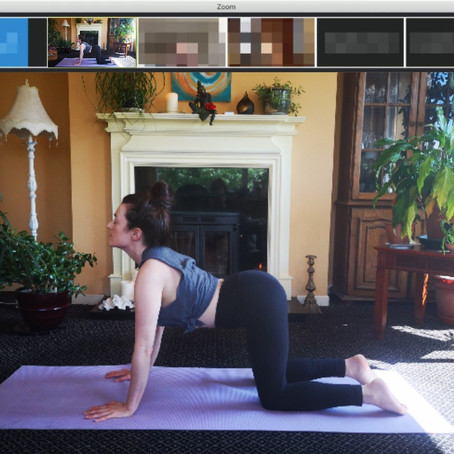 6 Reasons to Join a Live Zoom Yoga Class