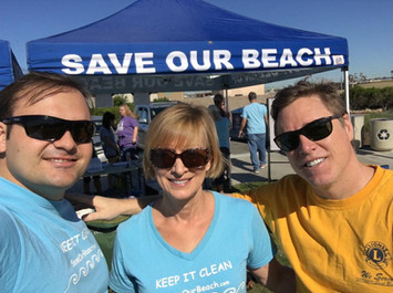 Lions & Save Our Beach
