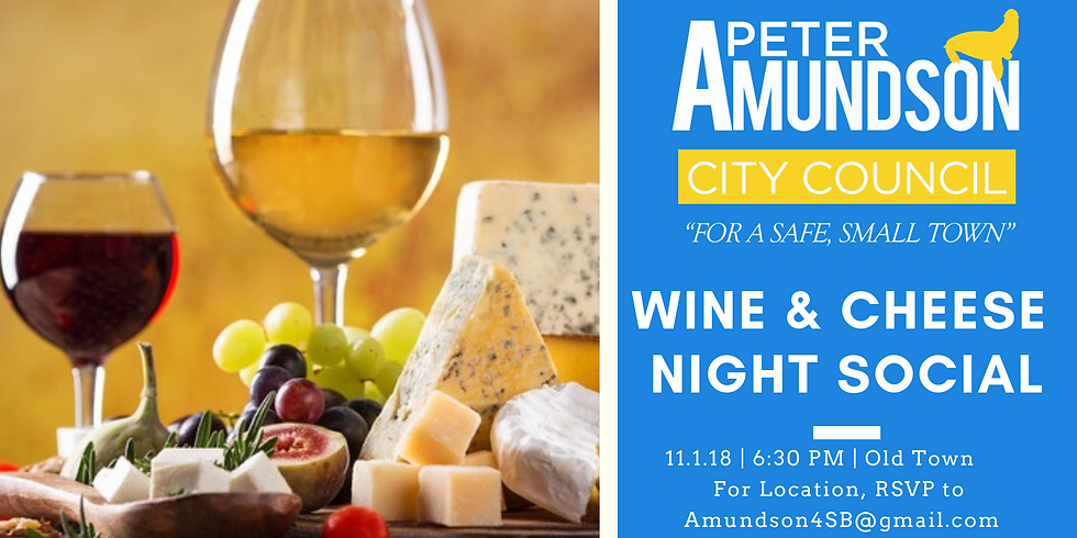 Wine & Cheese Night Social in Old Town