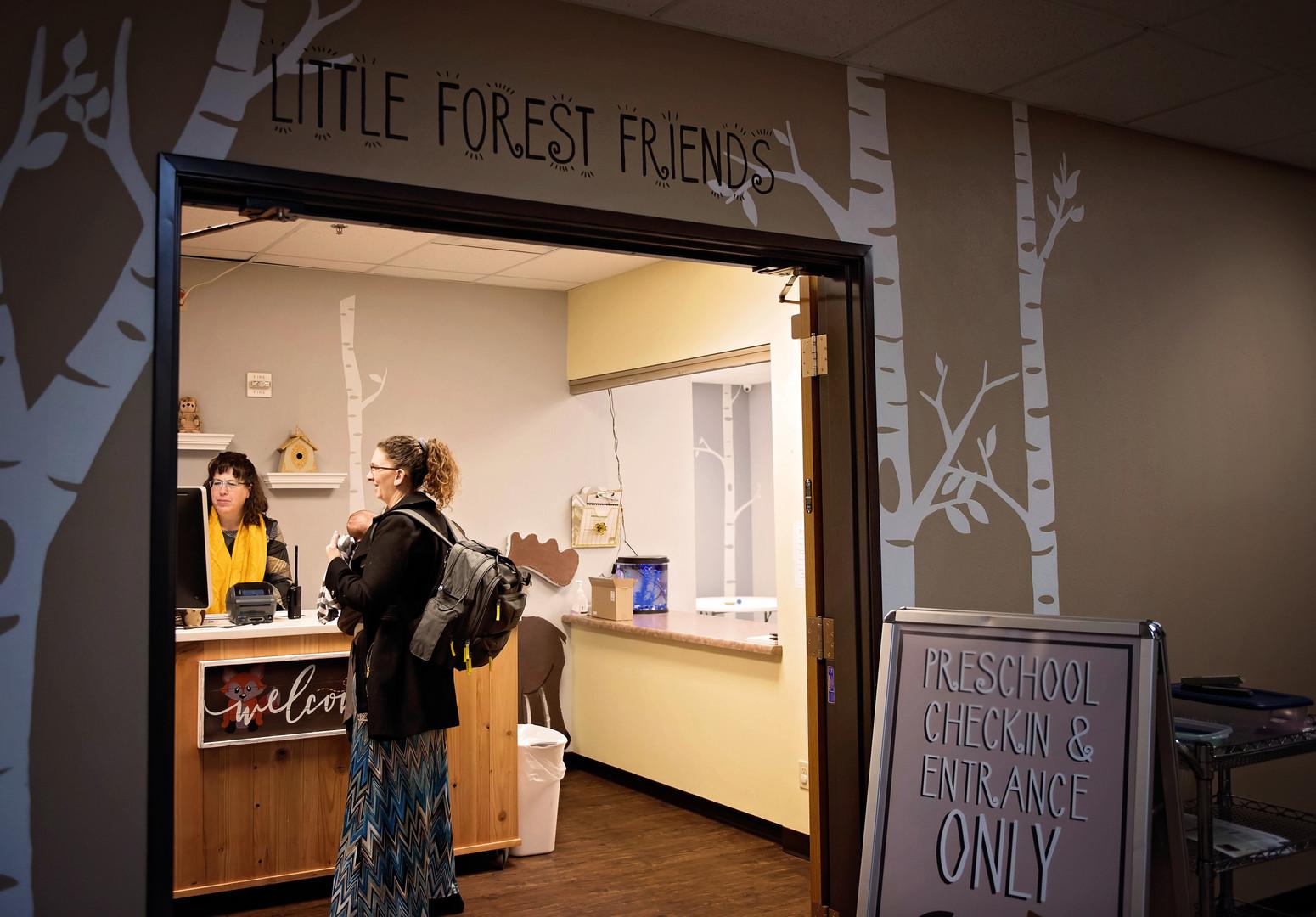 Little Forest Friends Preschool Entrance