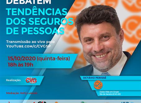 Presidente do CVG-RJ participa de evento nacional sobre seguro de pessoas