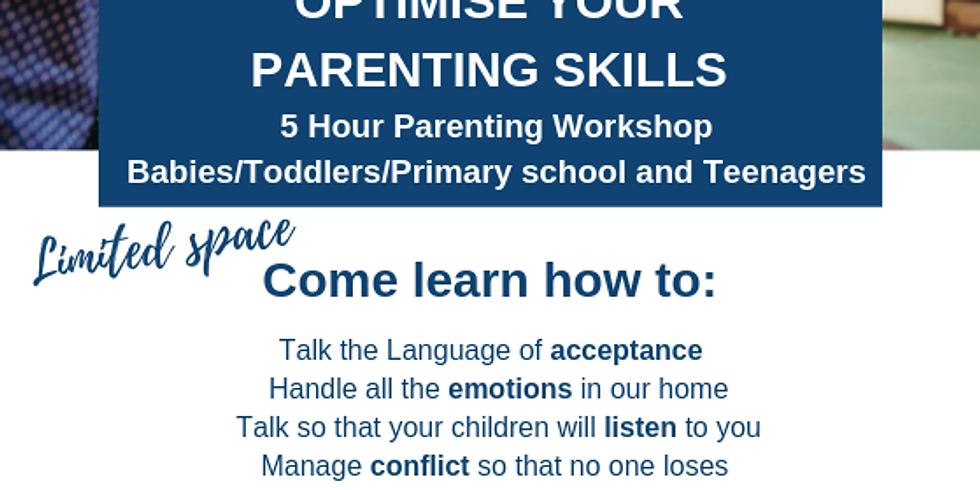 5 Hour Parent Workshop in Stellenbosch