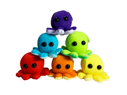 Rainbow Octopus Collection