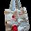 Thumbnail: Red Floral Tote Bag