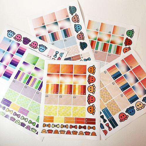 Printable Scrapbooking/Planner Stickers