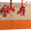 Thumbnail: Orange Tote Bag with Detachable Squid