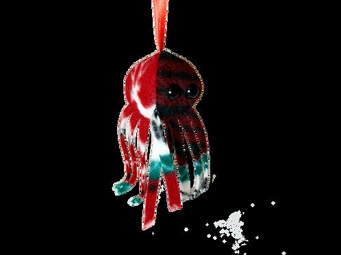 Christmas Jellyfish 2019 Ornament