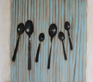 'Family of Spoons' by Miriam McConnon