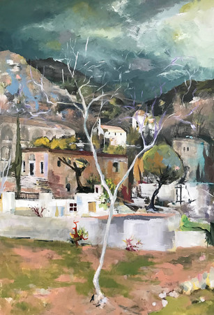 'Monastery. Stormy light' by Stephen Postgate