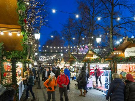Joulumarkkinoille Osloon