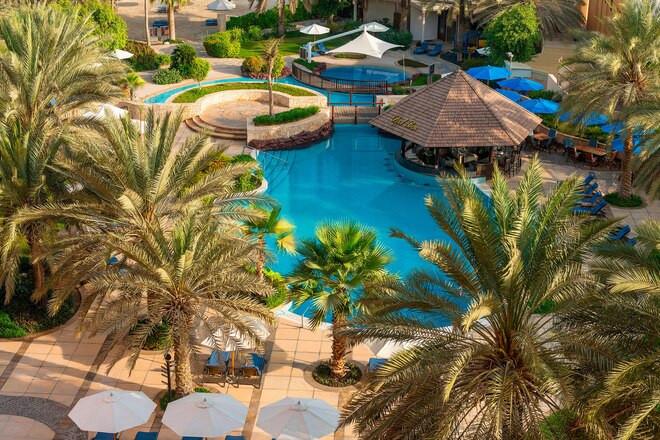 Resort & Pool View from Bedroom