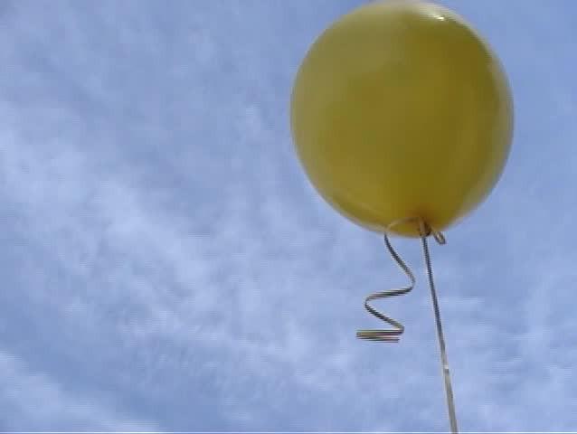 Bildresultat för blue and yellow balloon