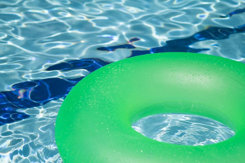 Green Inflatable Floatie