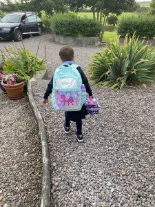 Ensimmäinen päivä koulussa
