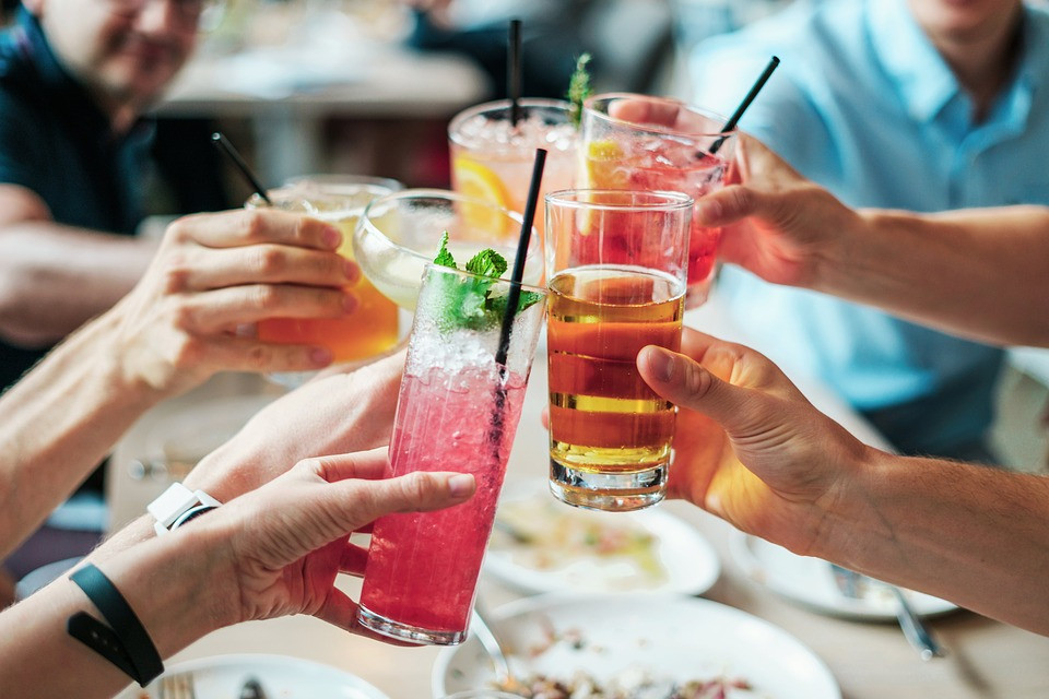 Drycker, Alkohol, Drinkar, Alkoholhaltiga, Glas, Dryck