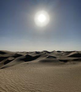 desert outside of abu dhabi