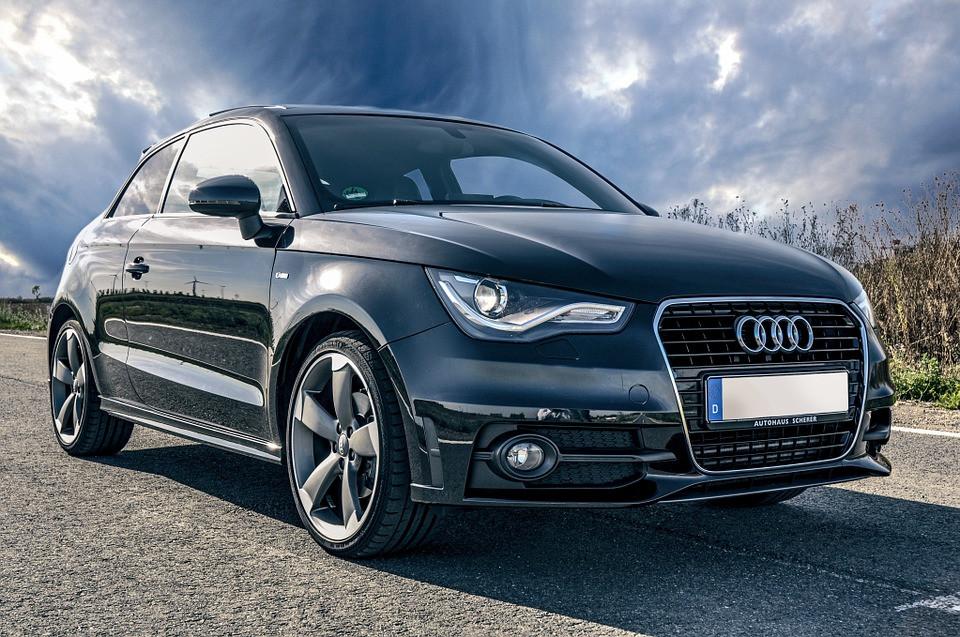 Auto, Audi, Svart, Fordon, Tuning, Sportbil, Liten Bil