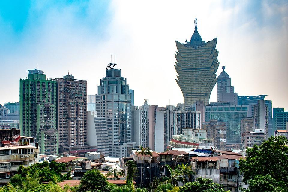 Macao, Macau, Kina, Arkitektur, Turism, Hotell, Asien